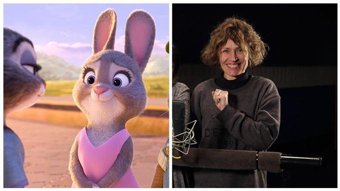 Isabelle Desplantes, alias Mrs Hopps, la mère de Judy: «C'est la première fois que je doublais une lapine.»