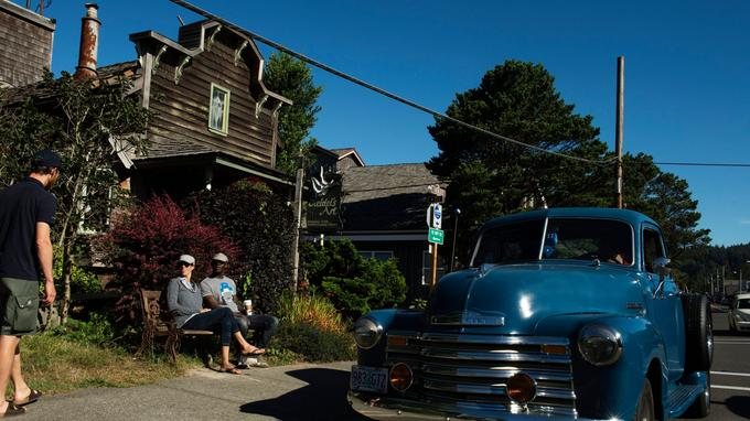 Les Portlandais n'aiment rien tant que flâner à Cannon Beach, adorable village côtier tout en bois. Une ambiance «pionniers du Grand Ouest», le désert en moins, l'océan Pacifique en plus.