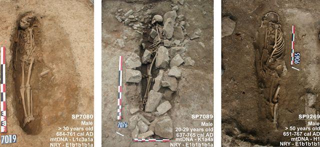 Trois tombes musulmanes ont été retrouvées lors de fouilles à Nîmes.