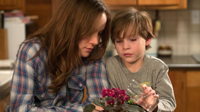 Brie Larson dans <i>Room</i>.