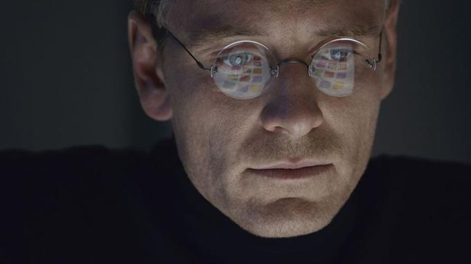 Michael Fassbender dans <i>Steve Jobs</i>