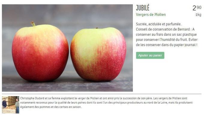 Pomme de Le Comptoir Local