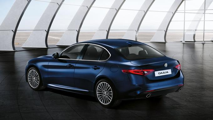 Le profil, l'italienne évoque sa rivale désignée, la BMW Série 3.