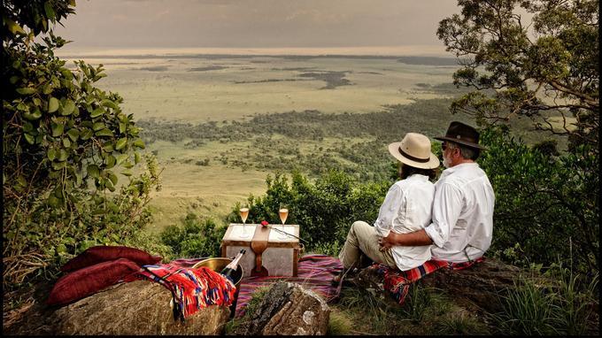 Les voyageurs épris de romantisme revivront avec bonheur la scène du déjeuner sur l'herbe sur son lieu de tournage, dans le Masai Mara.
