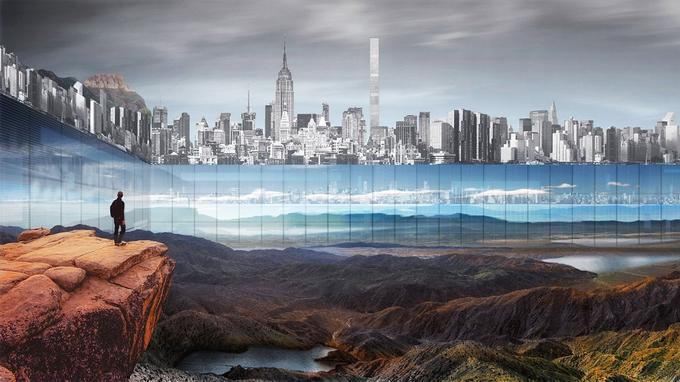 Le projet New York Horizon avec ses façades tout autour. (Yitan Sun/Jianshi Wu)