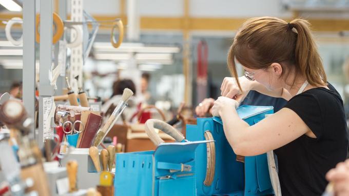 Travail dans l'usine d'Hericourt