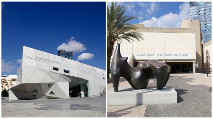Le musée d'art de Tel-Aviv abrite une collection de plus de 20.000 pièces. (Photos Nellu Cohn)