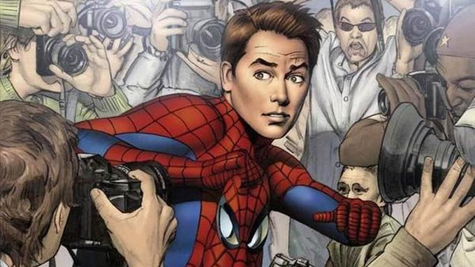 Peter Parker tombe le masque