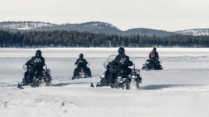 Safari en scooter des neiges, à partir de 130 € par personne. (Crédit photo: Markus Alatalo)