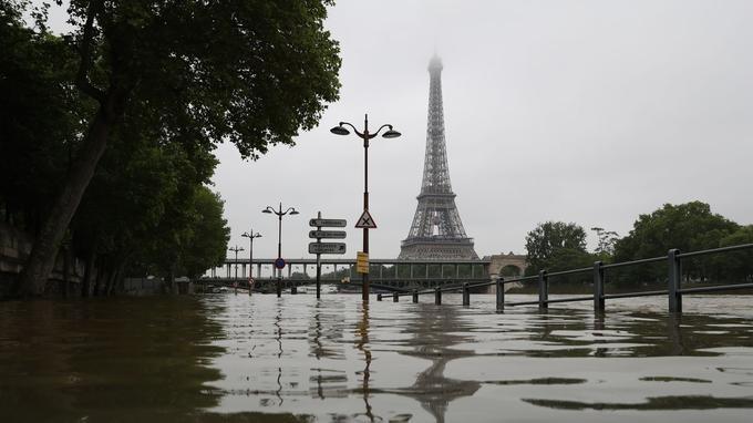 La Seine devrait atteindre les 6 mètres ce jeudi 2 juin à Paris.