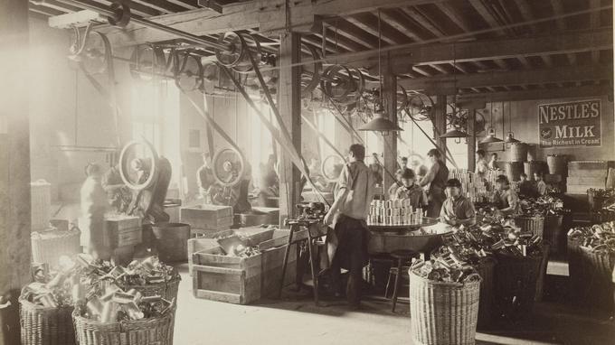 La «fabrique» où Henri Nestlé a élaboré en 1867 sa farine lactée, bientôt exportée dans le monde entier.