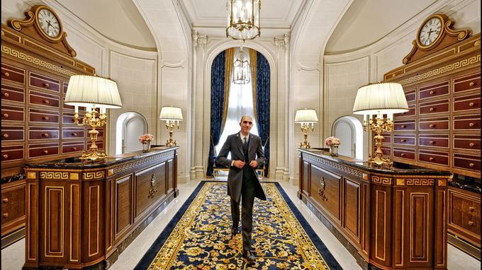 Chef de la conciergerie, Michel Battino veille sur le nouvel espace qui lui est dédié.