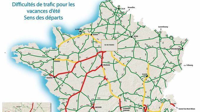 circulation région parisienne temps réel