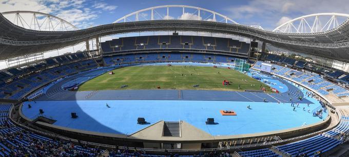 Les épreuves-test en prélude aux Jeux olympiques de Rio de Janeiro ont débuté le 4 mai dans le stade de Maracana, au Brésil.