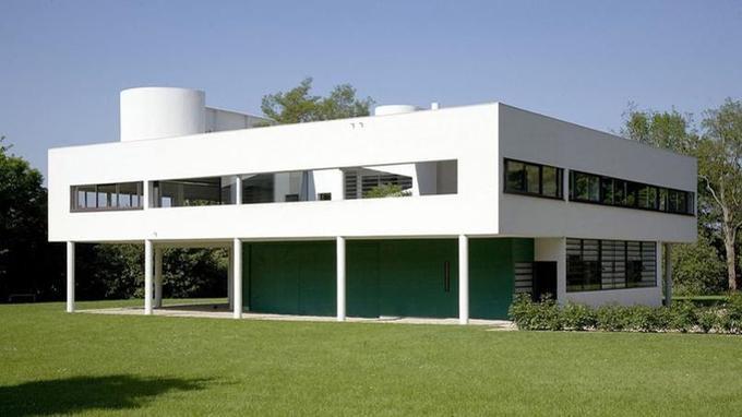 Villa Savoye, à Poissy.