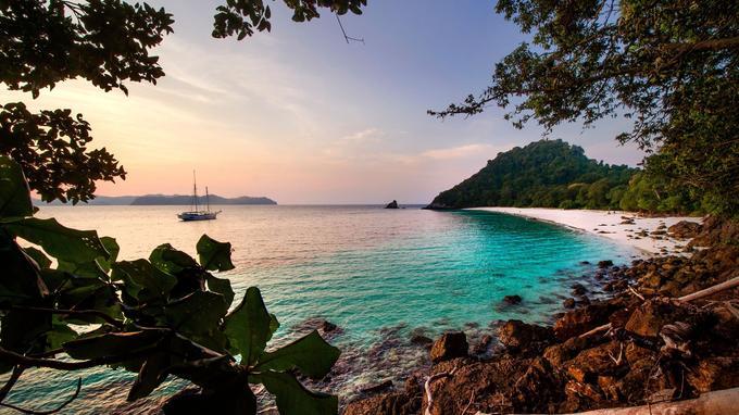 Shark Island, 115 Island, Myut Ni, Ba Well, McLoud, les noms des îles convoquent déjà le rêve.