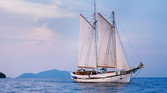 Le «Raja Laut» a été construit selon la tradition des navires du XIXe siècle en mer Baltique.