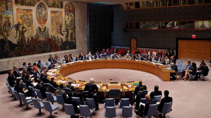 Le Conseil de sécurité des Nations unies s'est réuni dimanche à New York.