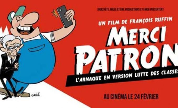 L'affiche du documentaire de François Ruffin.