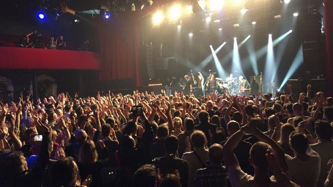 Samedi 12 novembre 2016 au Bataclan lors du concert de Sting.