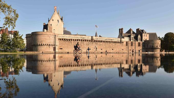 Le château des Ducs de Bretagne. © Jean-Dominique Billaud/LVAN