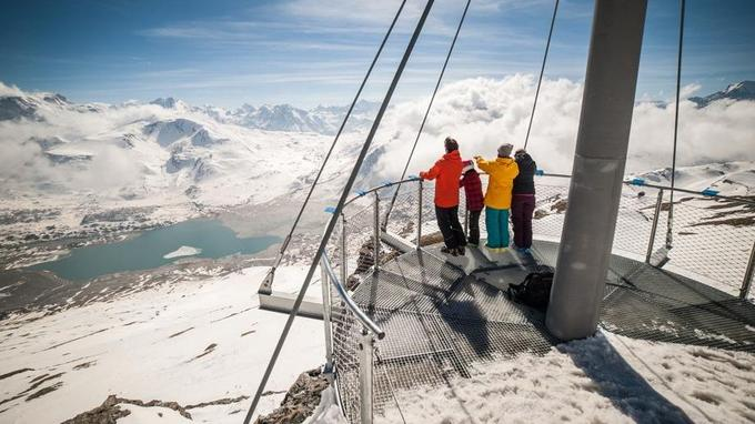 Imprenable vue, à Val Cenis. © Alban Pernet