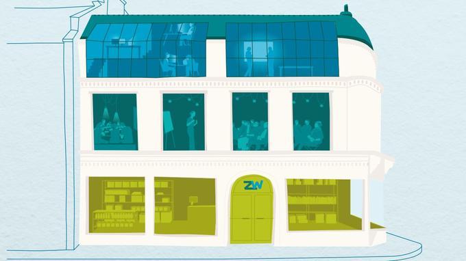 La maison du Zéro déchet comprendra une boutique ainsi qu'un espace de formation