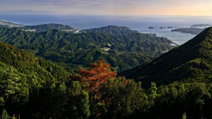 Le parc national d'Ise Shima.