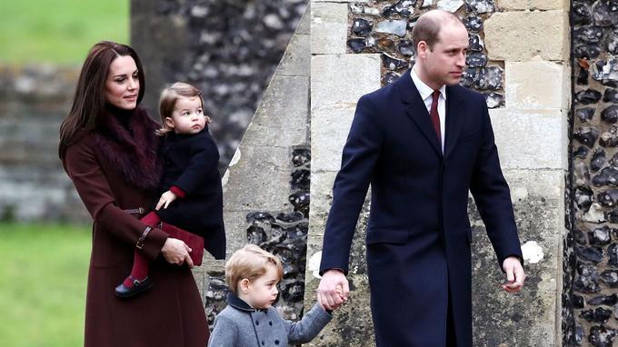 Le duc et la duchesse de Cambridge ont assisté à la messe de Noël dans le Berkshire.