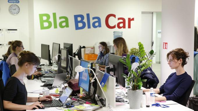 Blablacar est l'une des 270 plateformes d'économie collaborative qui opèrent en France