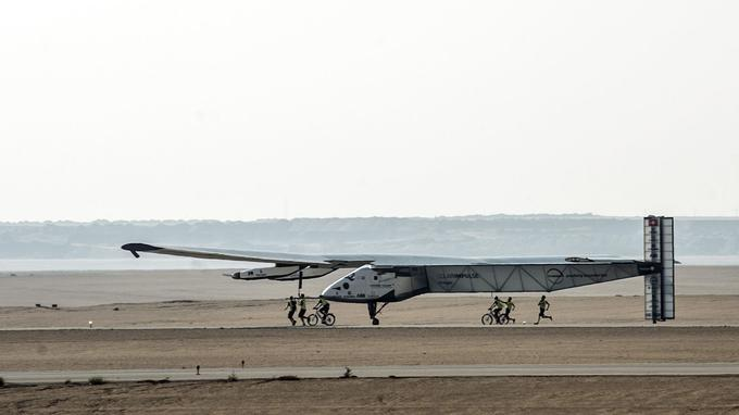 Solar Impulse au Caire