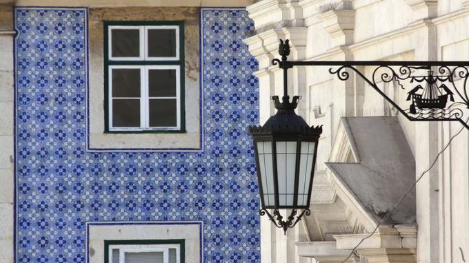A Lisbonne, les azulejos font partie intégrante du paysage. © OT du Portugal.