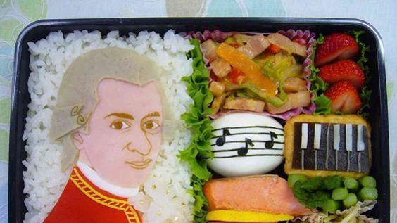 Bento hommage à Mozart