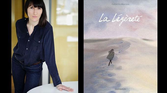 Catherine Meurisse livre dans <i>La Légèreté</i>, le récit de son retour à la vie, au dessin et à la mémoire, après l'attentat contre <i>Charlie Hebdo</i>.