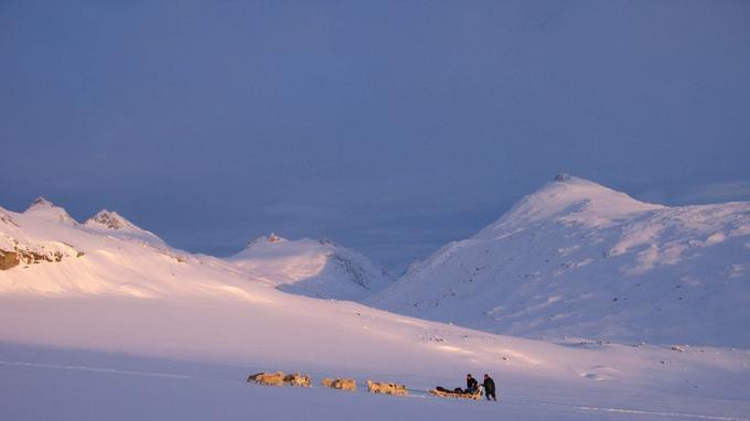 Dans l'immensité glacée du Groenland. © East Greenland
