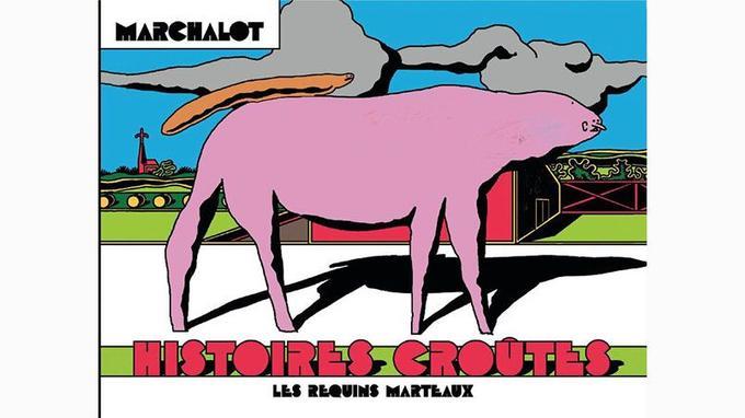 Né en 1986, le jeune Antoine Marchalot appartient à l'équipe des auteurs publiés aux éditions underground Les requins Marteaux.