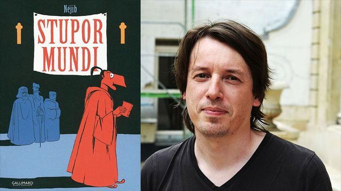Néjib naît en Tunisie en 1976 où il vit jusqu'à l'âge de dix ans. Il y dévore les aventures de Spirou avant de découvrir, en France, la bande dessinée «adulte» à travers des auteurs comme Moebius ou Tardi. Il signe en 2012 sa première bande dessinée, <i>Haddon Hall-Quand David inventa Bowie</i>.