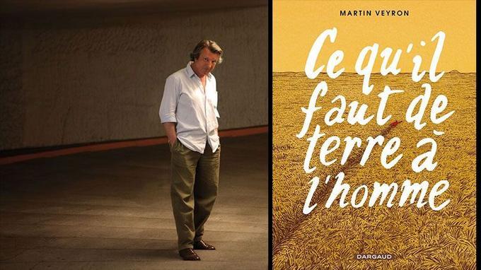 Martin Veyron, né à Dax en 1950, s'est imposé en 1977, en créant son inoubliable Bernard Lermite dans «L'Écho des savanes».