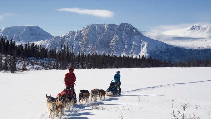Au fin fond du Yukon. ©Sky High Wilderness