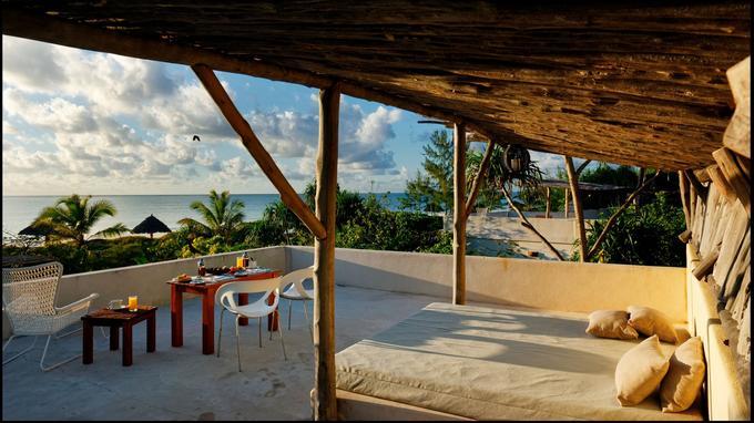 Le White Sand, un petit paradis sur la plage de Paje, bercé par la douce mélodie de l'océan.