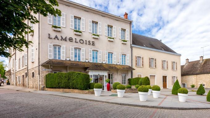 La maison Lameloise, à Chagny.
