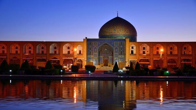 La mosquée du Sheikh Loftallah. ©Maison des Orientalistes.