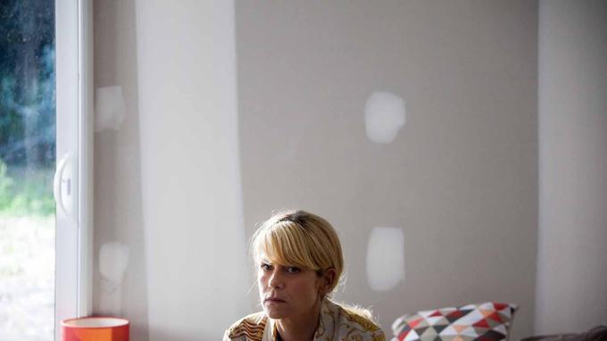 La folie de Marina Foïs dans <i>Irréprochable</i> a été saluée par une majorité des critiques du Figaro. ( <i>Memento film distribution</i>)