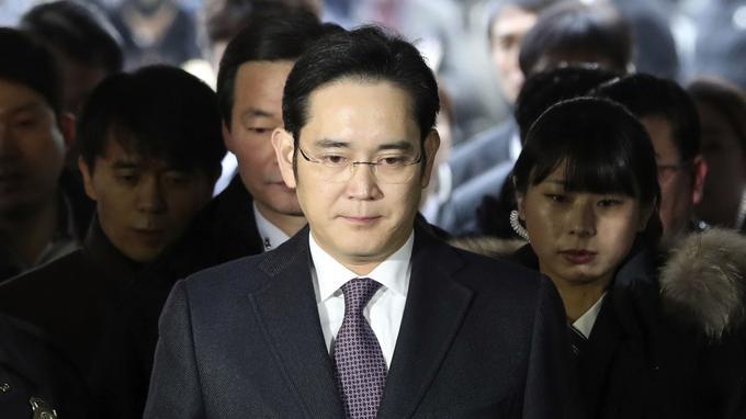 Lee Jae-Yong en janvier à Séoul.