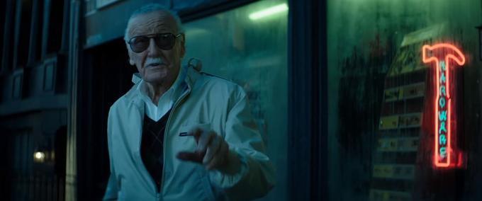 Stan Lee dans le teaser de «Deadpool 2».