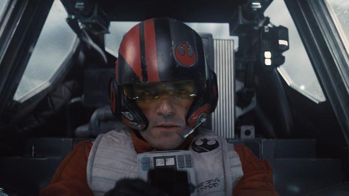 Poe Dameron le meilleur pilote de l'armée rebelle