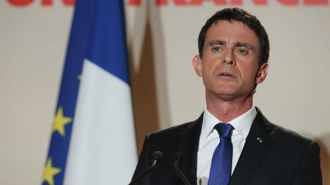 Manuel Valls en janvier dernier.