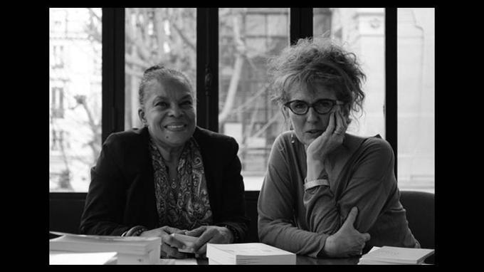 Christiane Taubira et Anne-Laure Liégeois © DR
