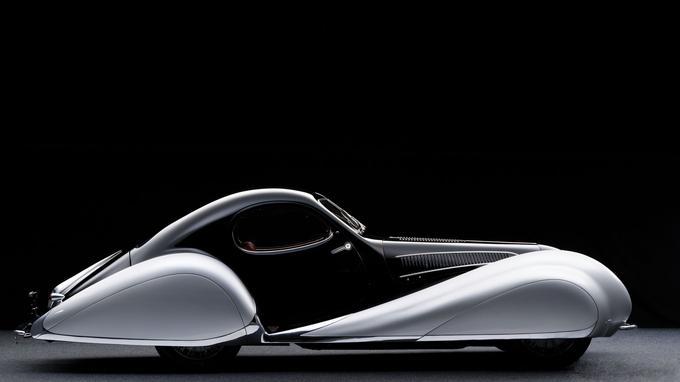 Surnommée «Goutte d'eau», la berlinette Talbot Lago T150-C SS dessinée par Figoni & Falashi est l'une des reines des concours d'élégance.