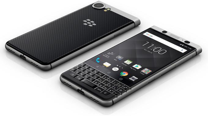 Le BlackBerry KeyOne devrait être vendu ce mois-ci au prix de 599 euros.